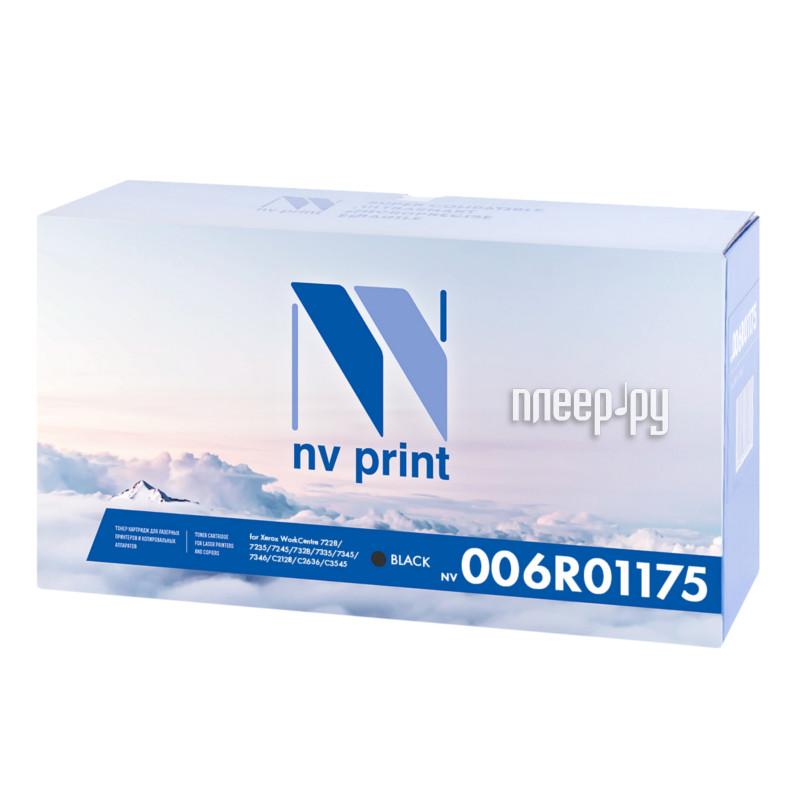 Картридж NV Print 006R01175 Black для Xerox WorkCentre 7228/7235/7245/7328/7335/7345/7346/С2128/С2636/С3545
