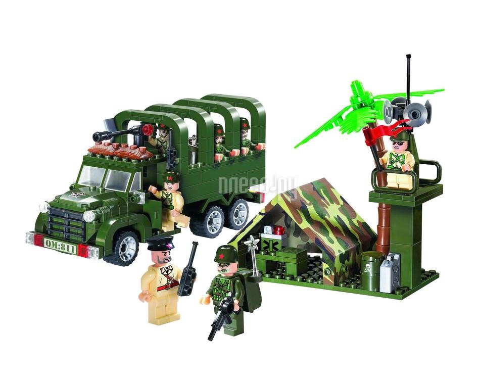 Конструктор Enlighten Brick CombatZones 811 База Г38900