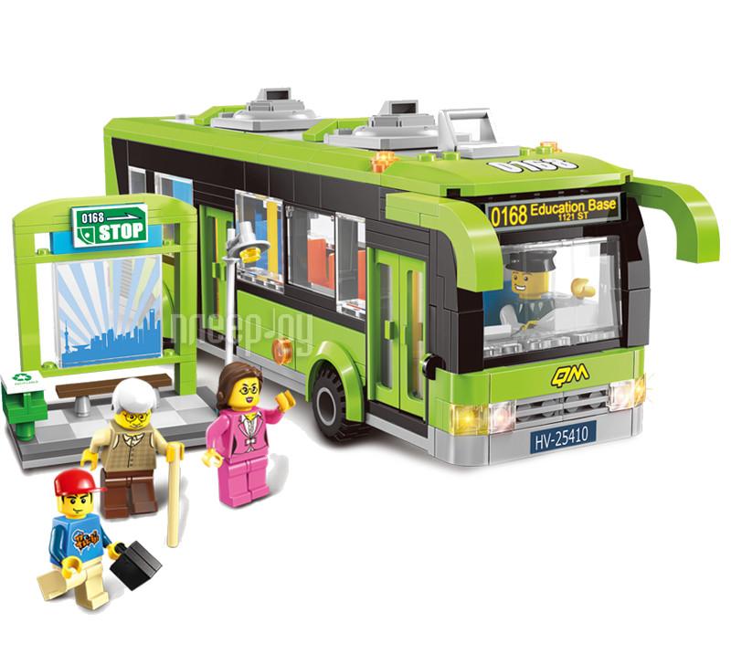 Конструктор Enlighten Brick Город 1121 Городской автобус Г72513