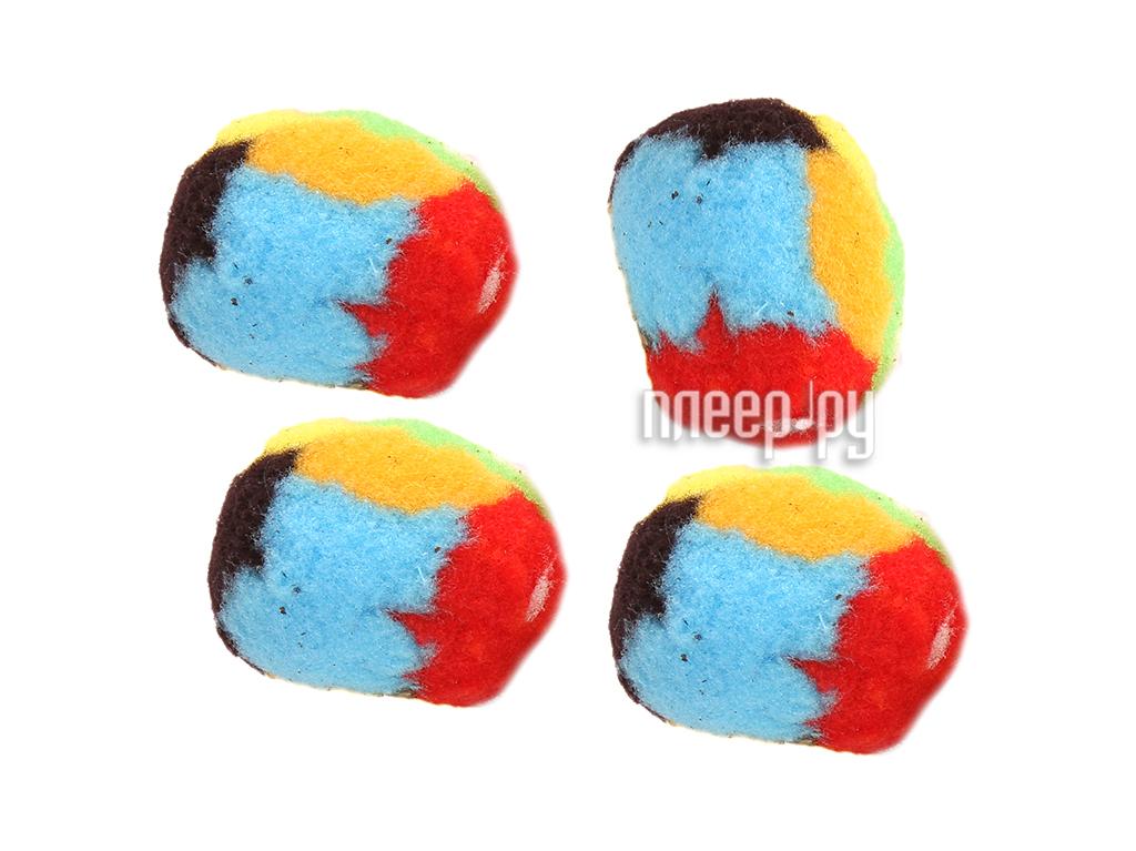 Игрушка Beeztees Мяч-помпон 425426 4шт за 118 рублей
