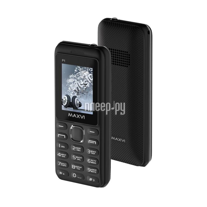 Сотовый телефон Maxvi P1 Black