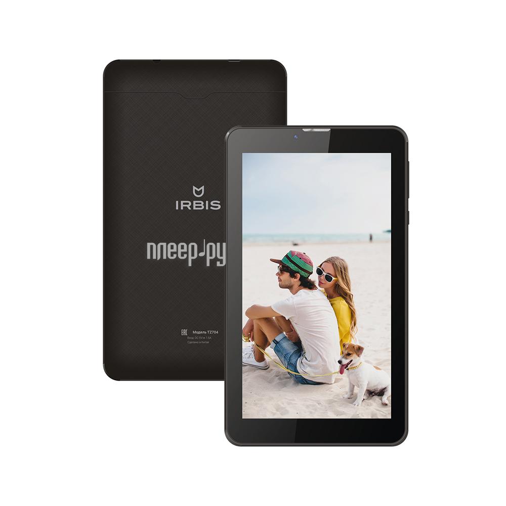 Планшет Irbis TZ704 Black (MTK 8312 CW 1.33 GHz / 512Mb / 8Gb / Wi-Fi / Cam / 7.0 / 1024x600 / Android 5.1)