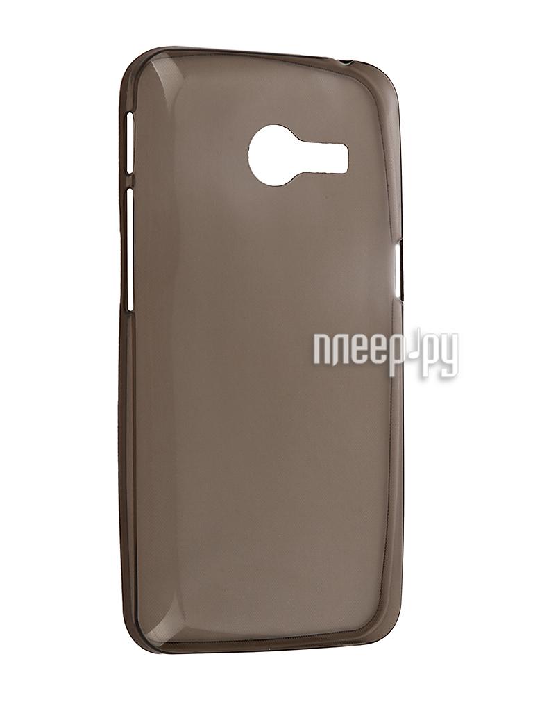 Аксессуар Чехол ASUS ZenFone 4 Krutoff Silicone Transparent-Black 10279