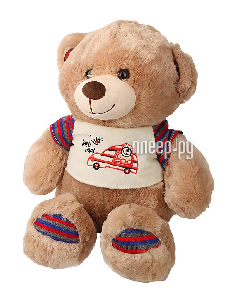 Игрушка антистресс Флиппер Мишка в футболке Brown ФЛ602