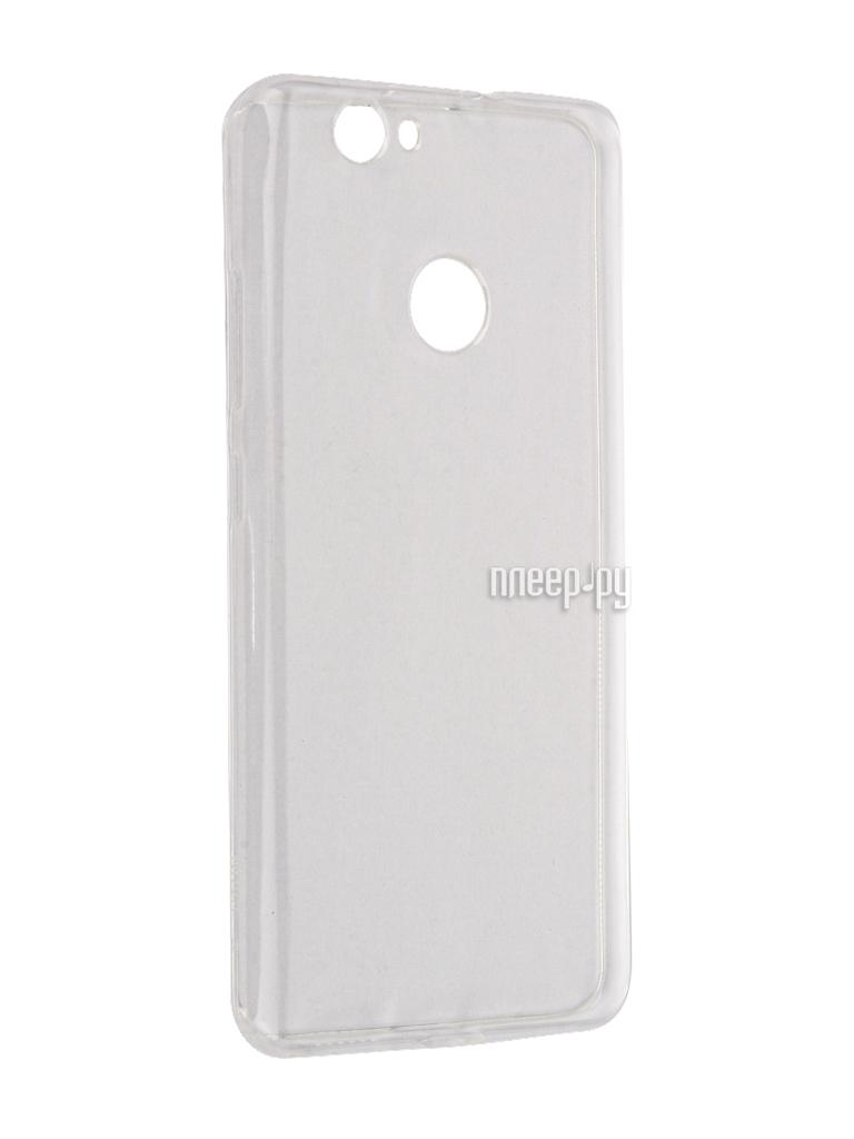 Аксессуар Чехол Huawei Nova BoraSCO 0.5mm Transparent BRS-HUANO-C-TPU