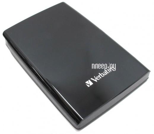 Жесткий диск Verbatim Store n Go 500Gb USB 3.0 Black 53029  Pleer.ru  1898.000