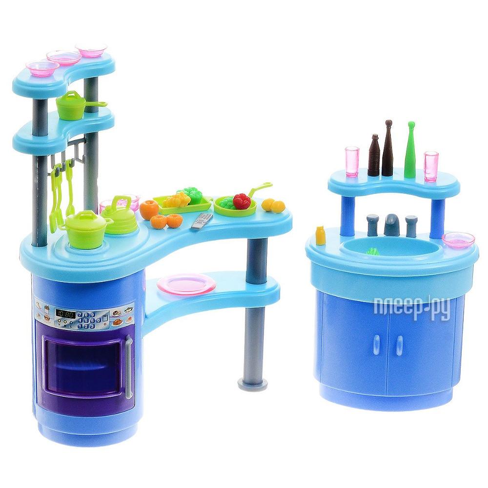 Игра 1Toy Красотка набор мебели для кукол, кухня 31x6.5x21cm Т54506