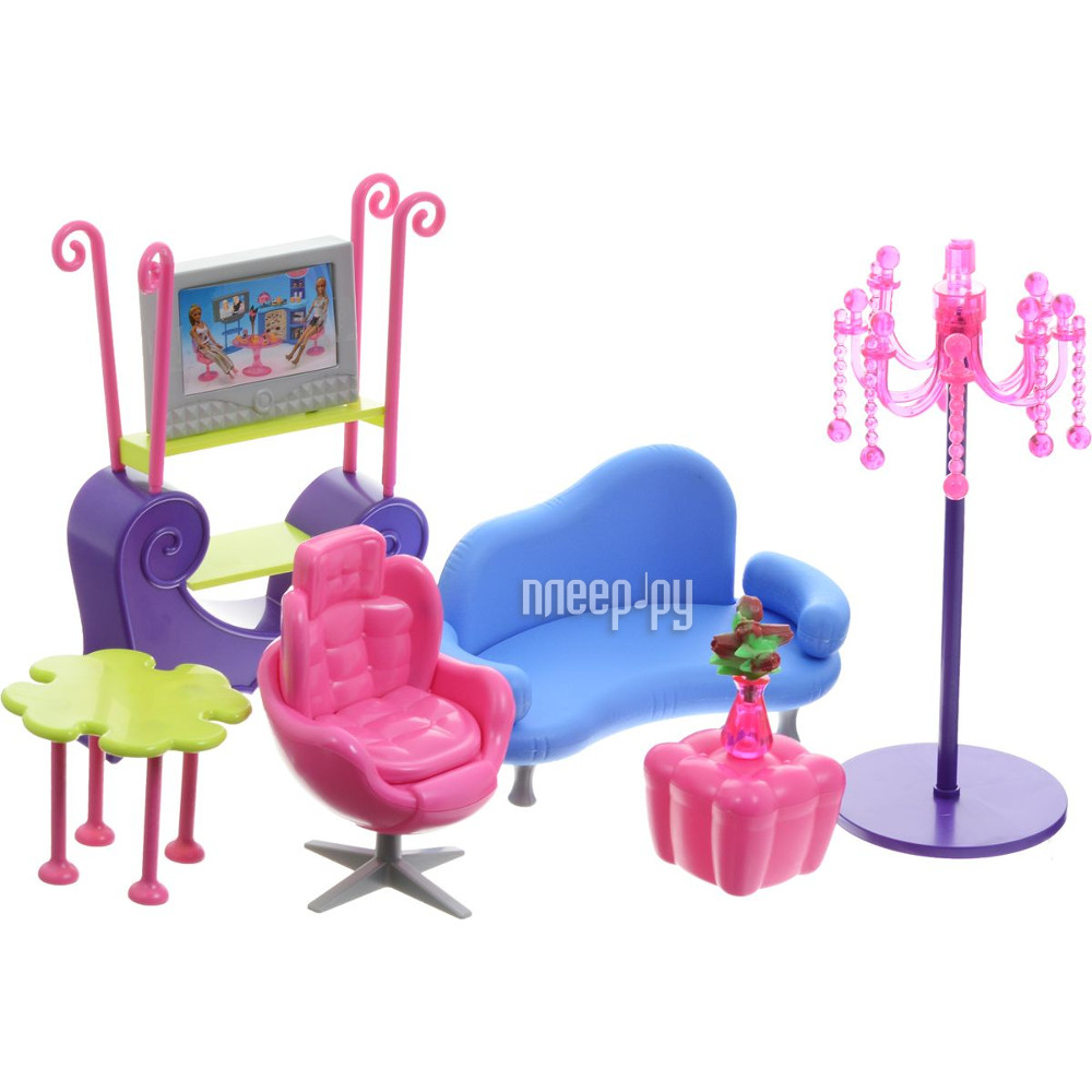 Игра 1Toy Красотка набор мебели для кукол, гостиная 35x6x22.5cm Т54504