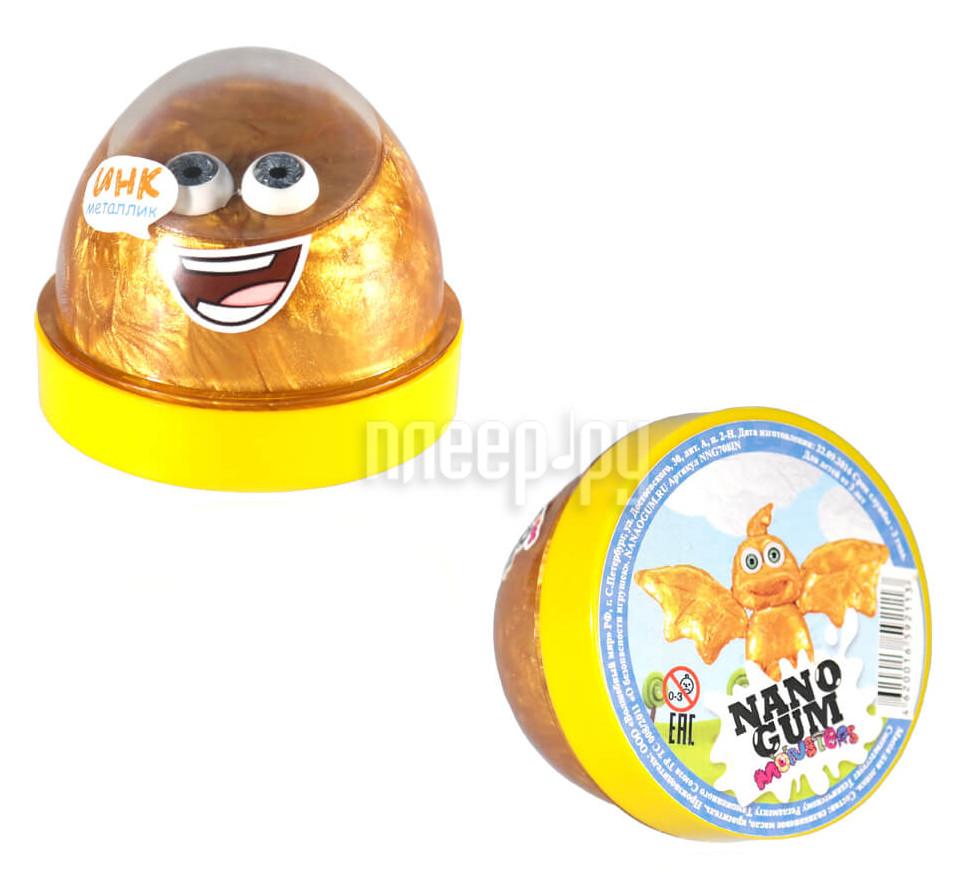 Жвачка для рук Nano Gum Инк 50гр Gold Metallic NG508IN