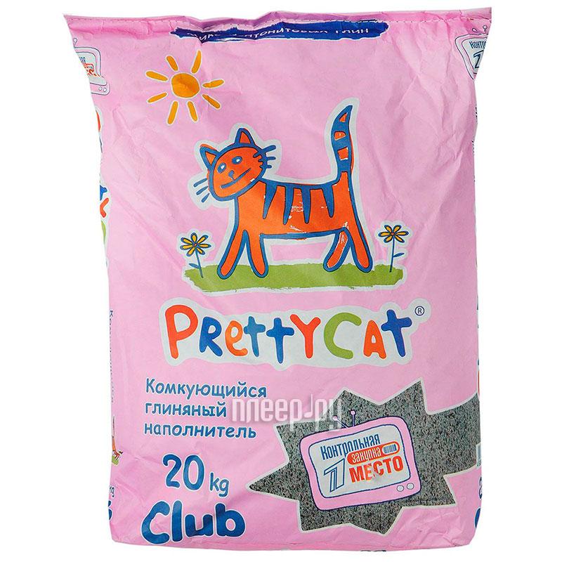 Наполнитель PrettyCat Euro Mix Club комкующийся 20Kg 42305