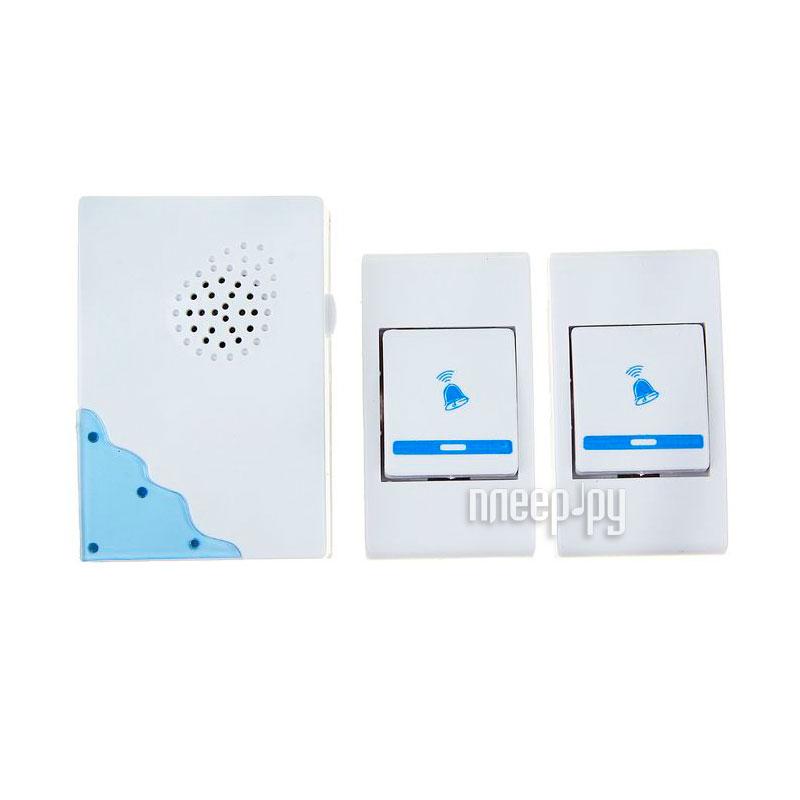 Звонок дверной Luazon LZDV-02-02 беспроводной Mix 1516195