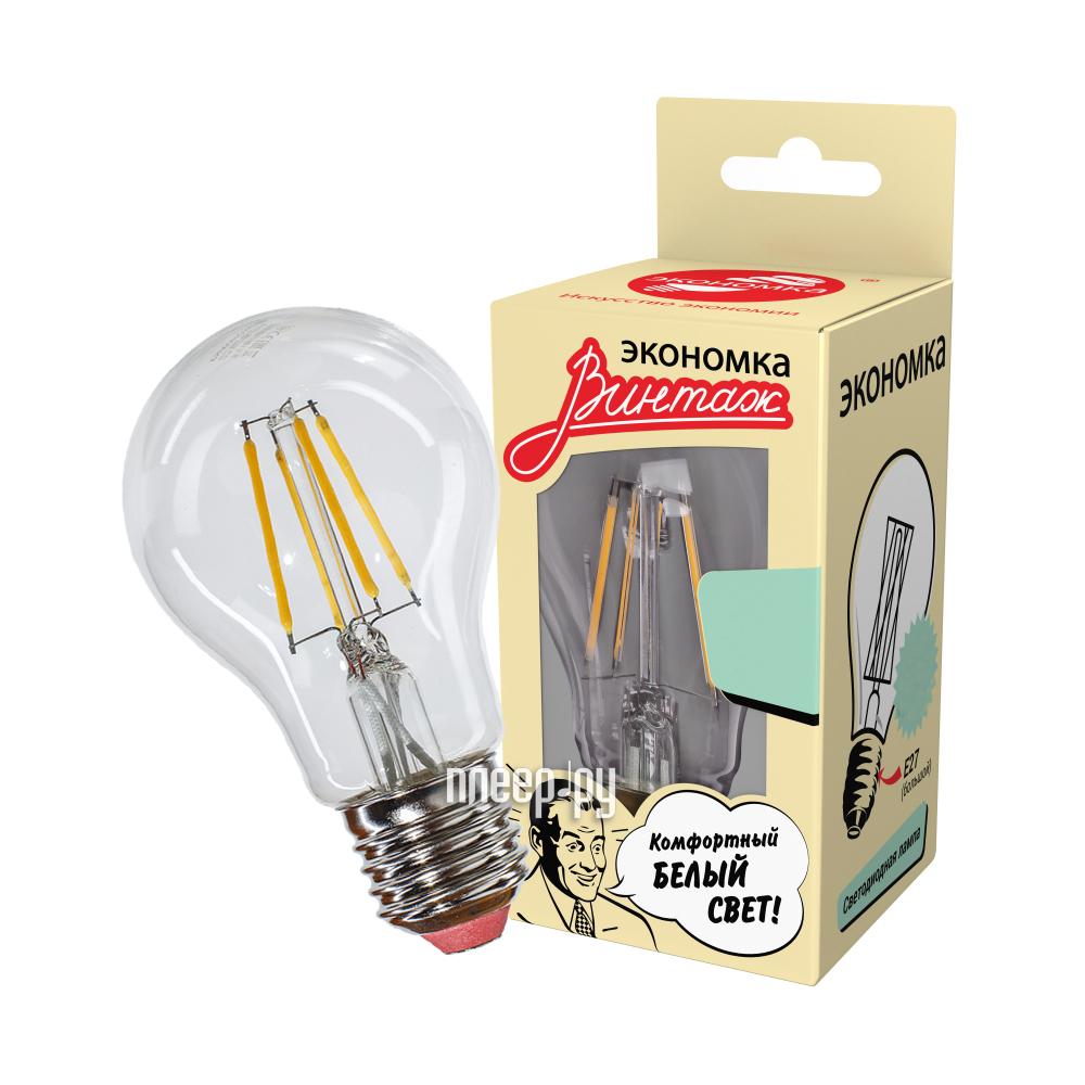 Лампочка Экономка A60 8W E27 160-260V 850Lm 2700K EcoLedFL8wA60E2727
