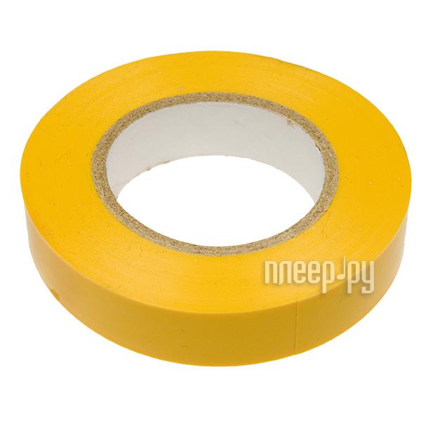 Изолента Rexant 15mm х 20m Yellow 09-2602