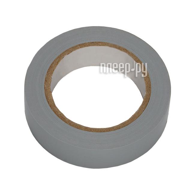 Изолента Rexant 15mm х 25m Grey 09-2108