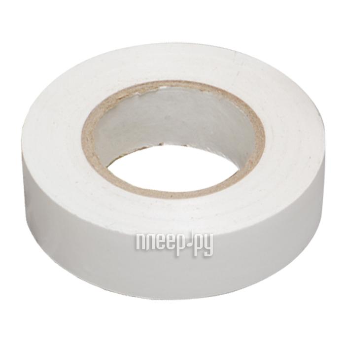 Изолента Rexant 15mm х 25m White 09-2101
