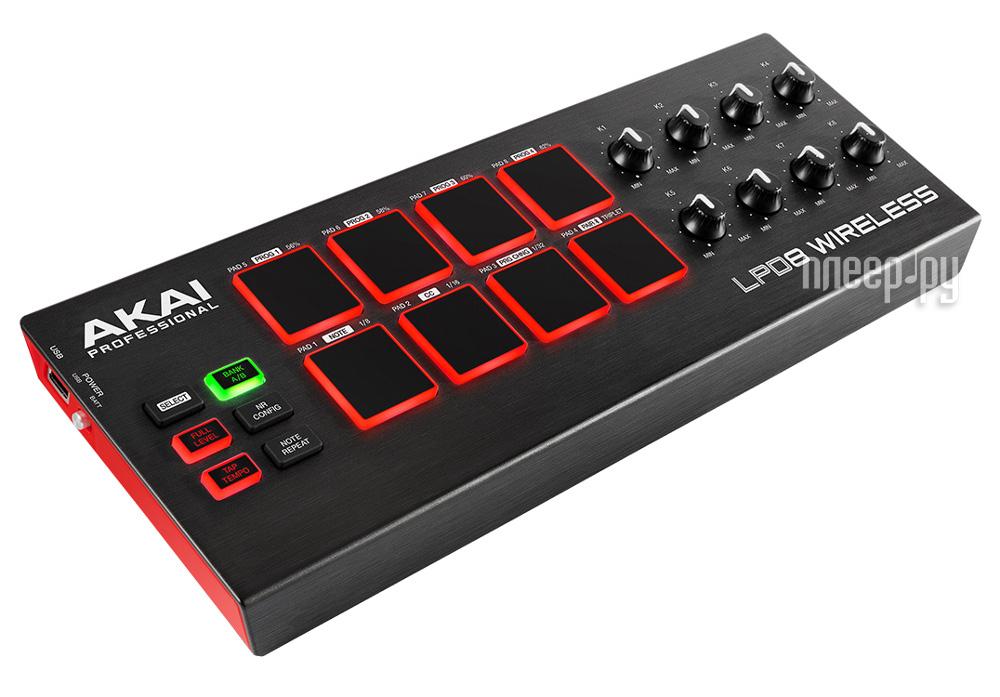 MIDI-контроллер AKAI Pro LPD8 WIRELESS