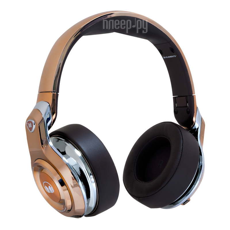 Гарнитура Monster Elements Wireless Over-Ear Rose Gold 137051-00