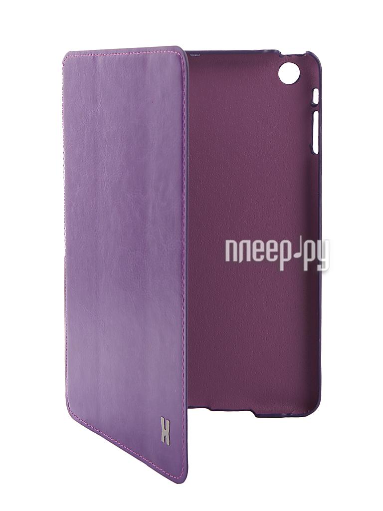 Аксессуар Чехол LuxCase Premium для iPad mini Violet 10357