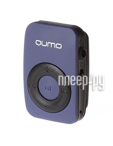 Плеер Qumo Active Dark Blue купить
