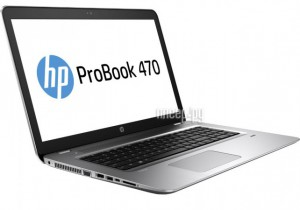 Купить Ноутбук HP ProBook 470 G4 Y8A81EA (Intel Core i5-7200U 2.5 GHz/4096Mb/500Gb/DVD-RW/nVidia GeForce 930MX 2048Mb/Wi-Fi/Bluetooth/Cam/17.3/1920x1080/Windows 10 64-bit)