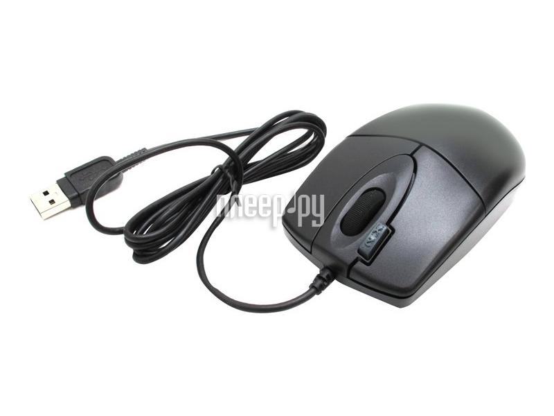 Мышь A4Tech OP-620D-U1 Black USB