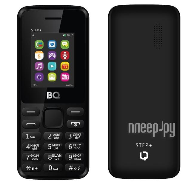 Сотовый телефон BQ Mobile BQM-1831 Step+ Black