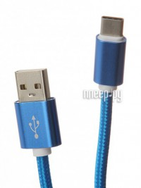 Аксессуар Aksberry USB AB Type C Blue