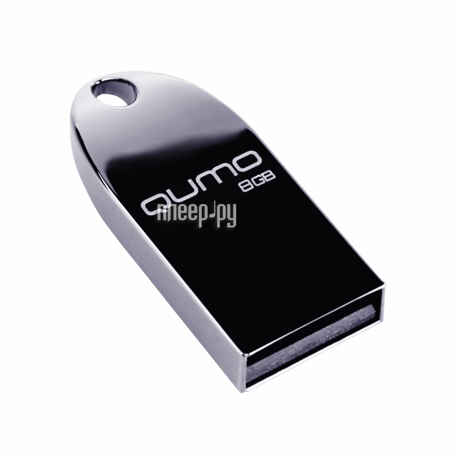 USB Flash Drive 8Gb - Qumo UD Cosmos Silver 19479