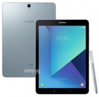 Samsung SM-T825 Galaxy Tab S3 9.7 32Gb LTE Wi-Fi Silver SM-T825NZSASER (Snapdragon 820 2.15 GHz/4096Mb/32Gb/LTE/Wi-Fi/Bluetooth/Cam/9.7/2048x1536/Android)
