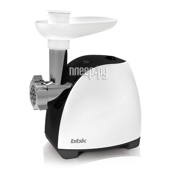 Мясорубка BBK MG1601 White-Black купить