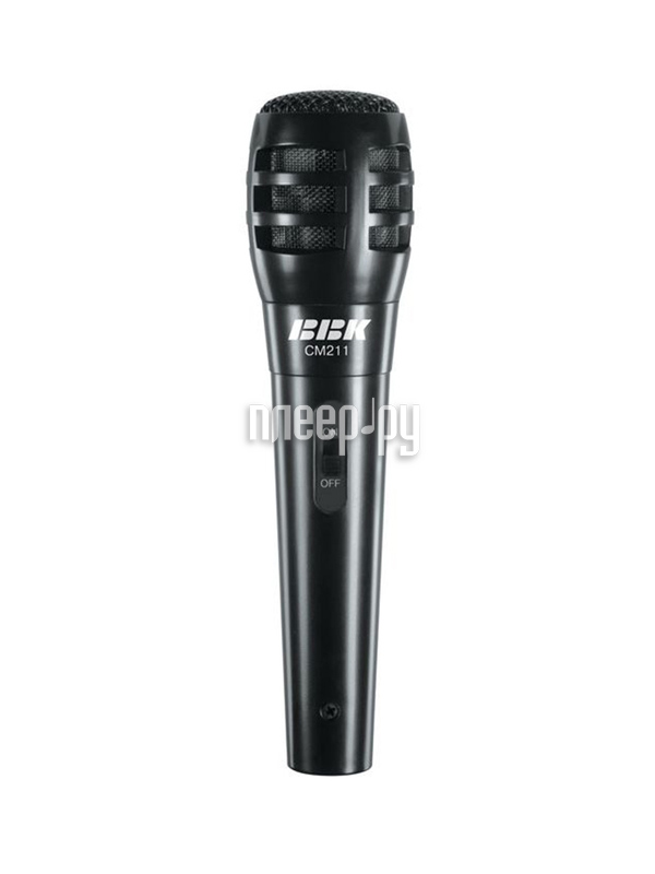 Микрофон BBK CM211 Black