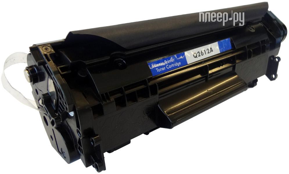 Картридж GoodWill GW-Q2612AU / Canon 703 / FX10 для HP LJ1010 / 1012 / 1015 / 1018 / 1020 / 1022 / 3015 / 3020 / 3030 / Canon LBP-2900 / 3000 / L100 / MF4150 2.0k Compatible