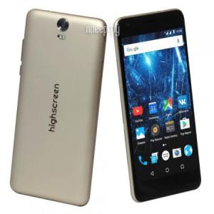 Купить Сотовый телефон Highscreen Easy XL Gold