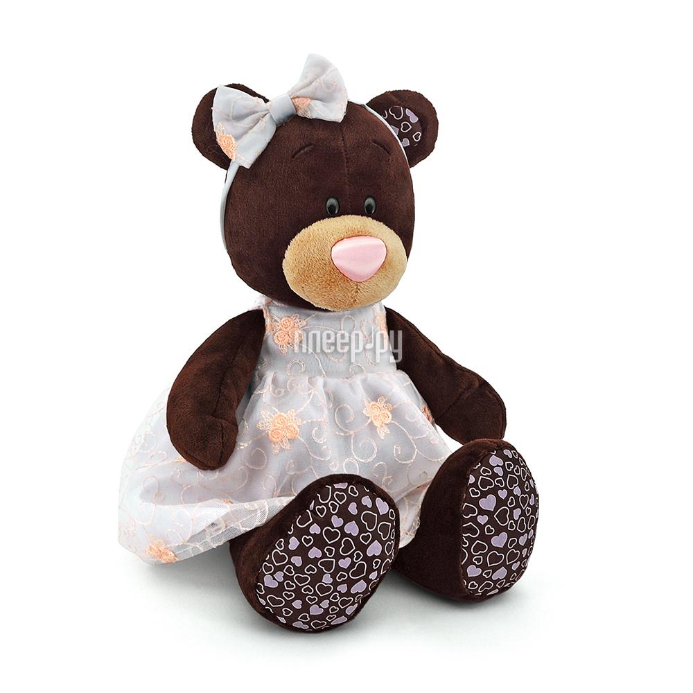 Игрушка Orange Toys Milk Медведь в платье с вышивкой 25cm M5040 / 25
