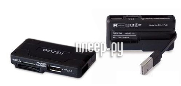Карт-ридер Ginzzu GR-417UB / GlobusGPS GL-USB / CBR CR 455