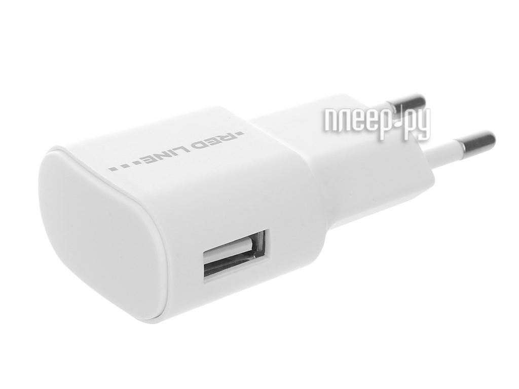 Зарядное устройство Red Line Lite USB 1A TC-1A White
