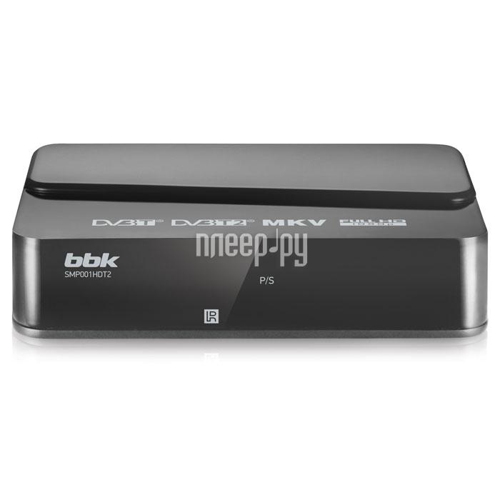 Тюнер BBK SMP001HDT2 Dark-Grey