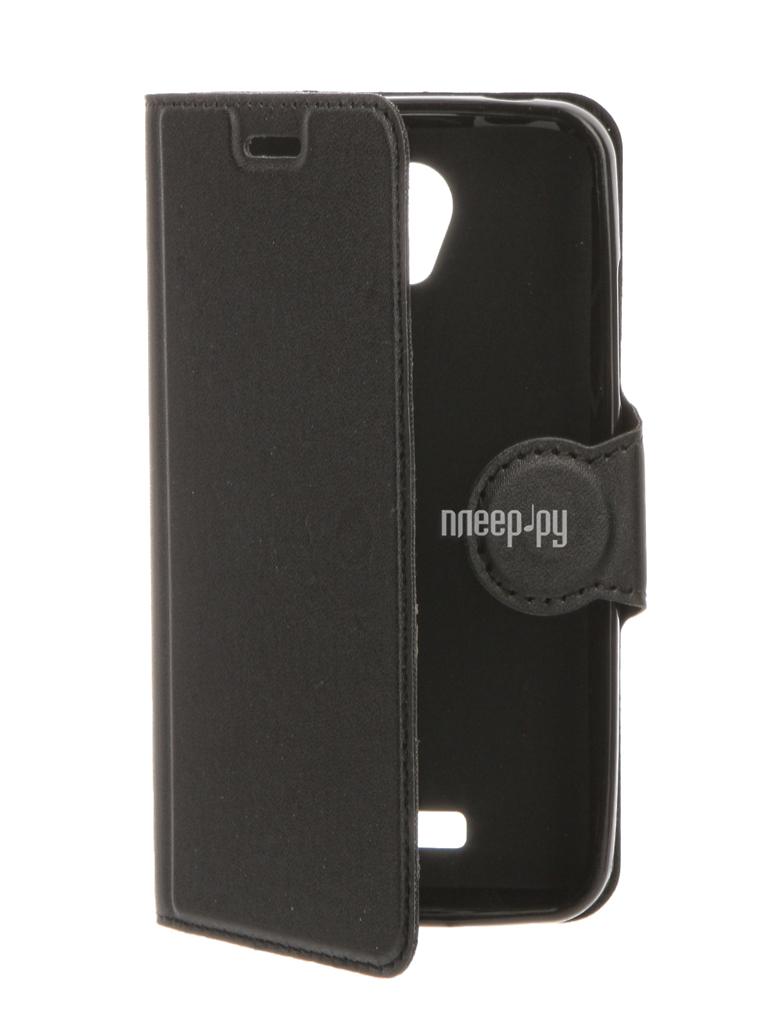 Аксессуар Чехол Lenovo A Plus A1010 / Vibe B A2016 Red Line Book Type Black