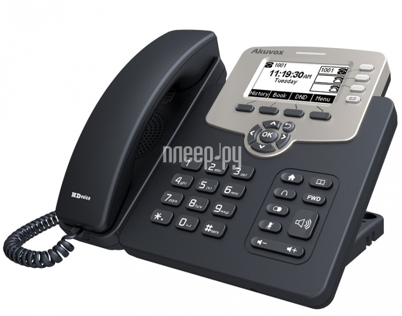 VoIP оборудование Akuvox SP-R53P