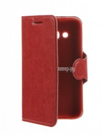 Аксессуар Чехол Alcatel OneTouch 4034 Pixi 4 Red Line Book Type Red