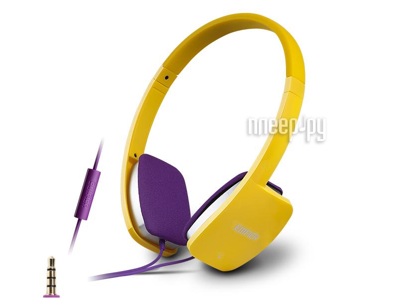Гарнитура Edifier H640P Yellow за 717 рублей