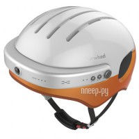 Умный велошлем Airwheel C5 White-Orange AW C5-WHITE&ORANGE-L