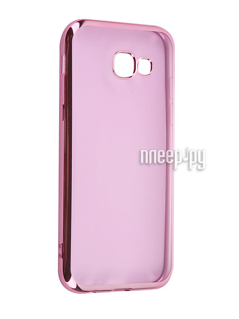 Аксессуар Чехол Samsung Galaxy A5 2017 iBox Blaze Pink frame