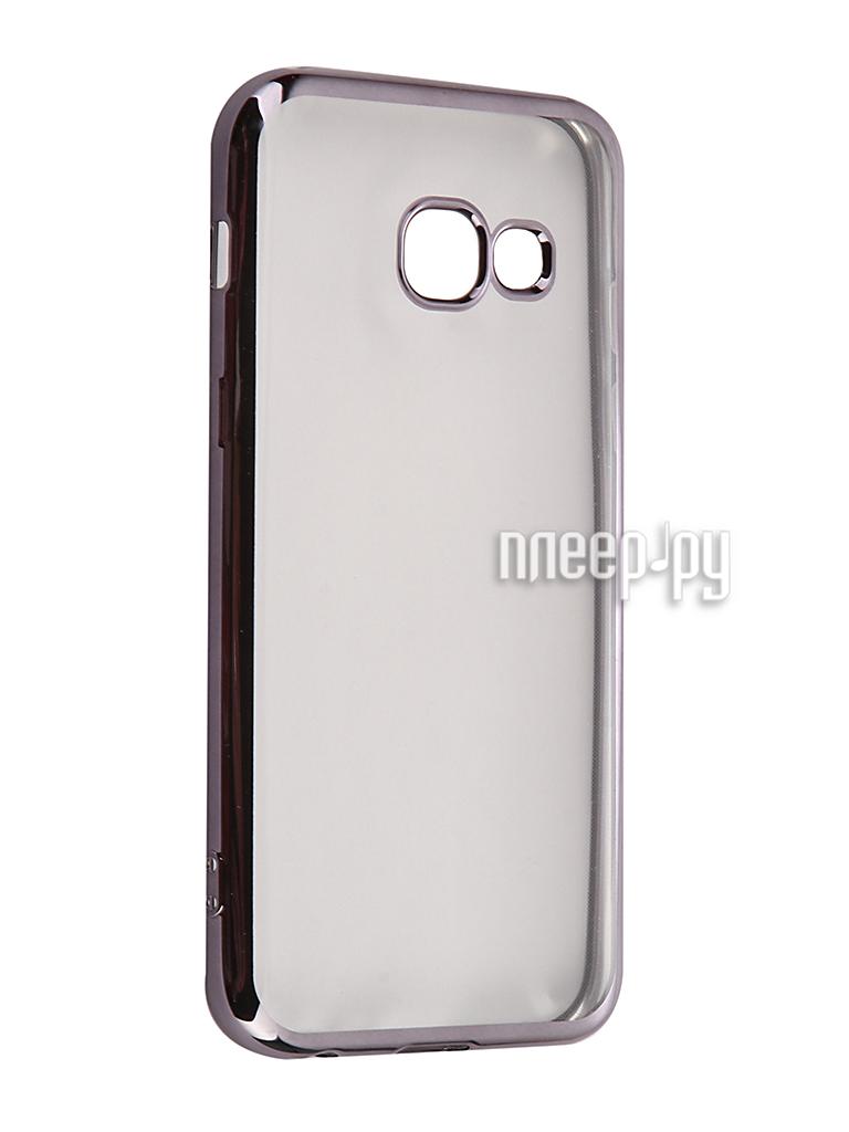 Аксессуар Чехол Samsung Galaxy A3 2017 iBox Blaze Black frame купить