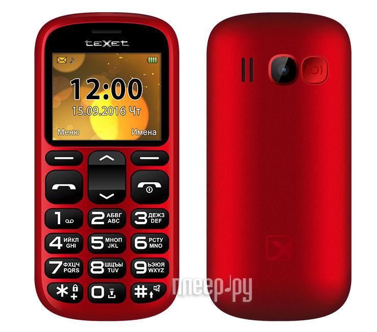 Сотовый телефон teXet TM-B306 Red