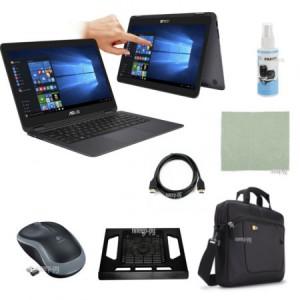Купить Ноутбук ASUS ZenBook Flip UX360CA 90NB0BA2-M03510 Grey Выгодный набор + подарок серт. 200Р!! (Intel Core M5-6Y54 1.1 GHz/8192Mb/256Gb SSD/No ODD/Intel HD Graphics 515/Wi-Fi/Bluetooth/Cam/13.3/1920x1080/Windows 10)