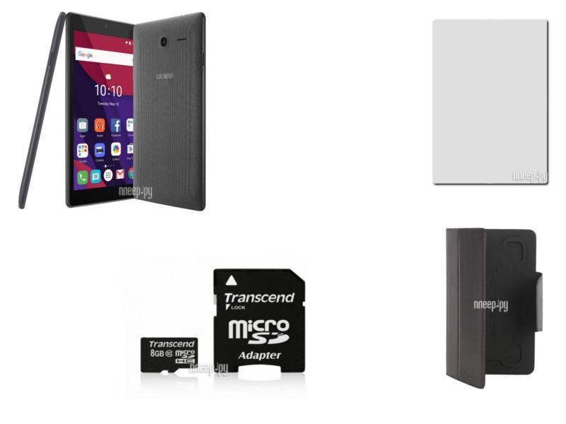 Планшет Alcatel 8063 PIXI 4 Smoky Grey (MediaTek MT8321 1.3 GHz/1024Mb/8Gb/Wi-Fi/Bluetooth/Cam/7.0/1024x600/Android)
