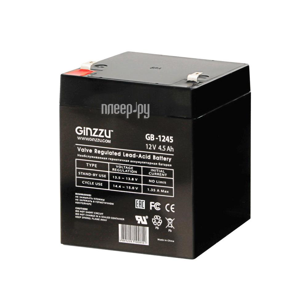 Аккумулятор для ИБП Ginzzu GB-1245