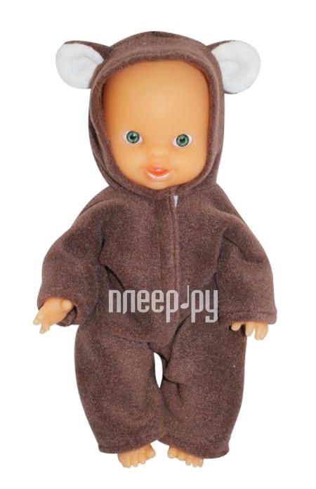 Кукла Пластмастер Пупс маленький Мишка 10136