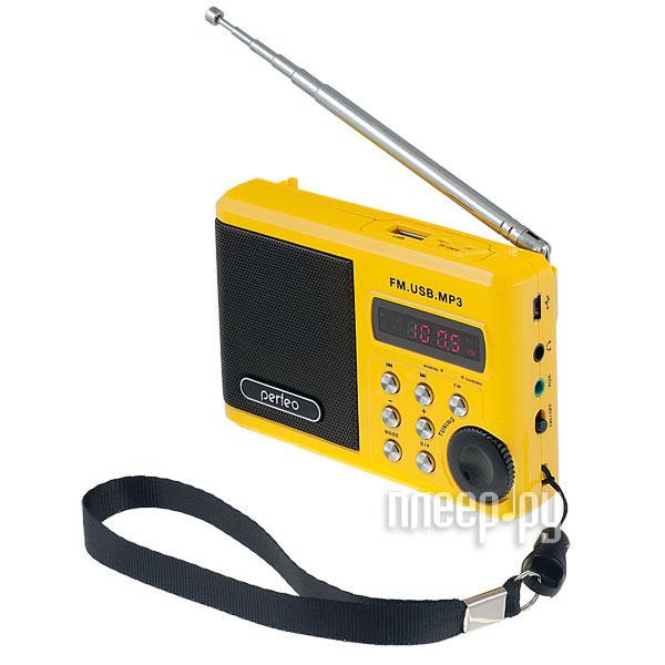 Радиоприемник Perfeo PF-SV922YL Yellow